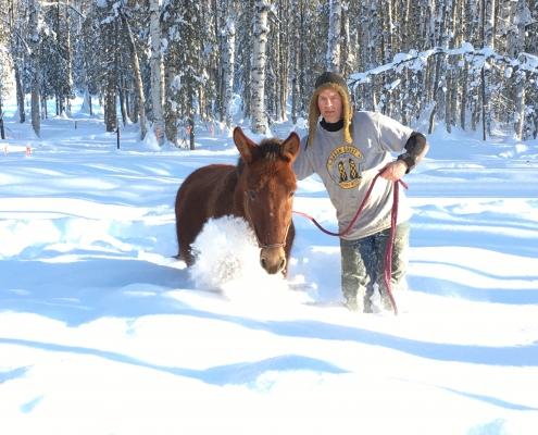 Gus in Alaska
